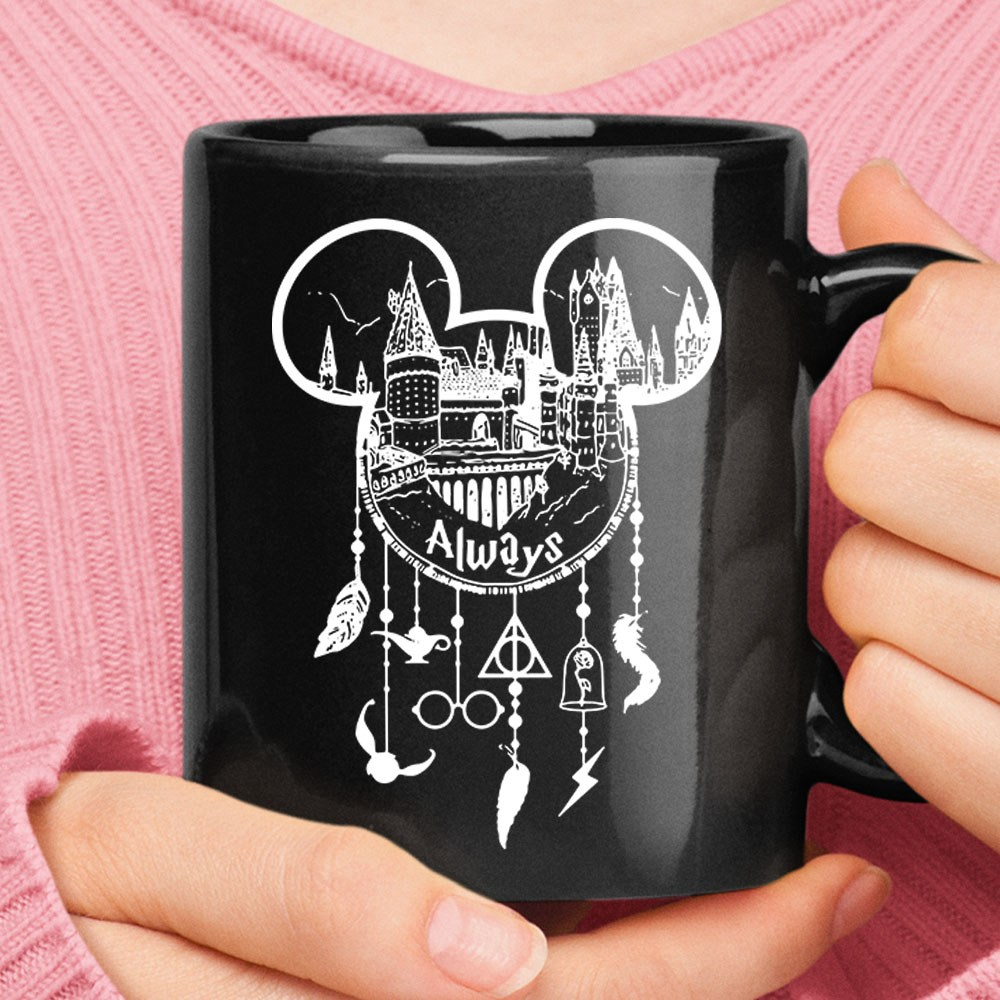 Hogwarts Mickey Head Harry Porter Disney Dreamcatcher Mug