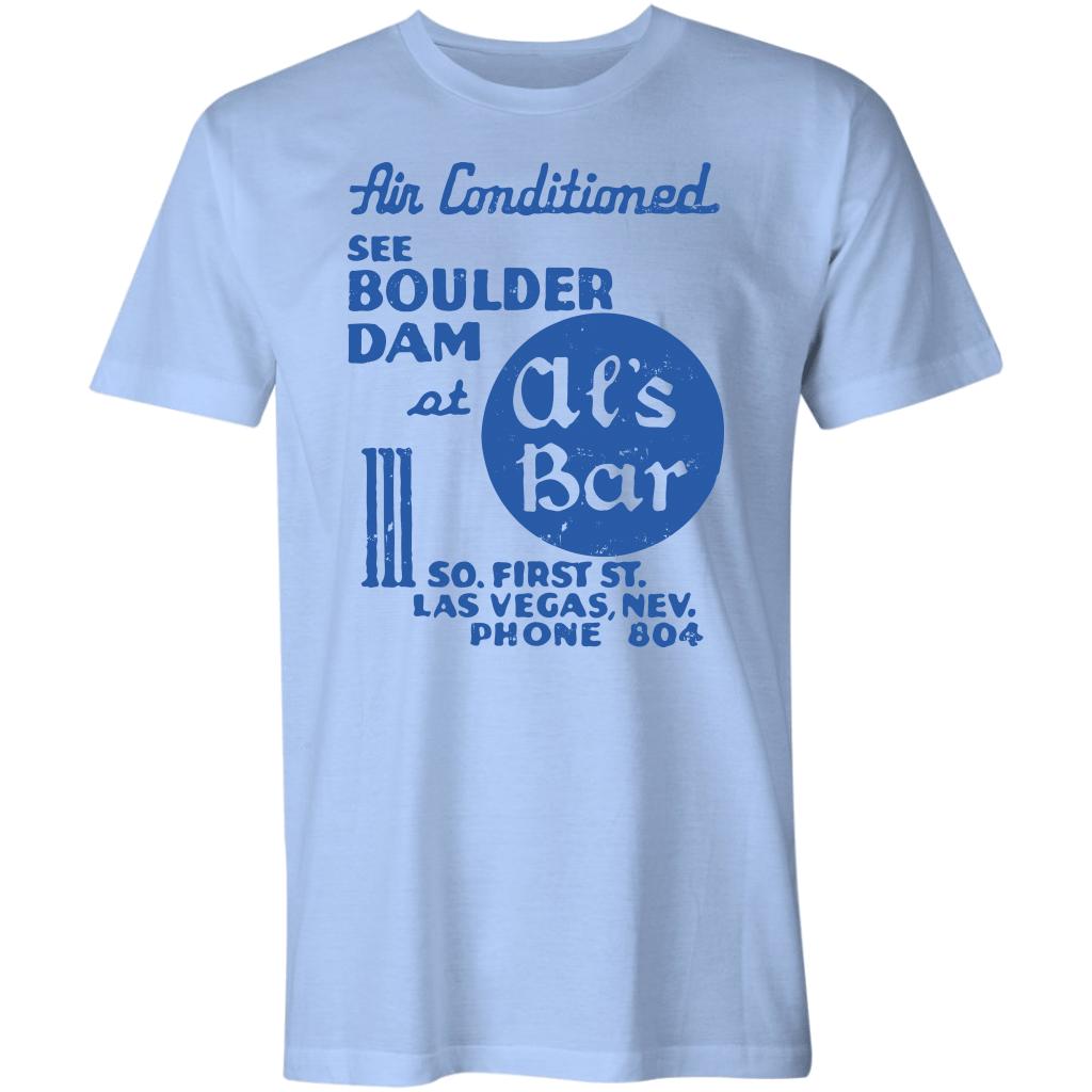 Al's Bar Boulder Dam – Vintag Las Vegas Unisex T Shirt,Premium T Shirt,Ladies T Shirt