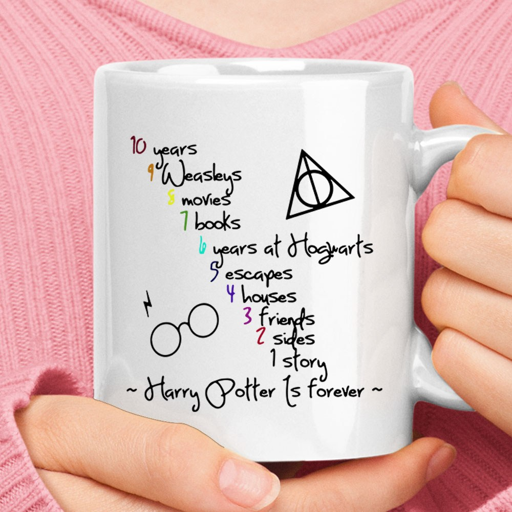 10 Years 1 Story Harry Potter Is Forever Mug