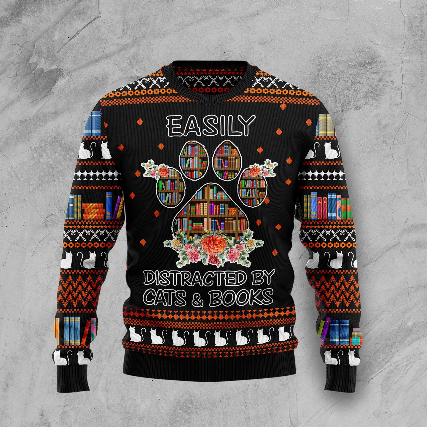 Caravan Ho Ho Home Wool Christmas Sweater