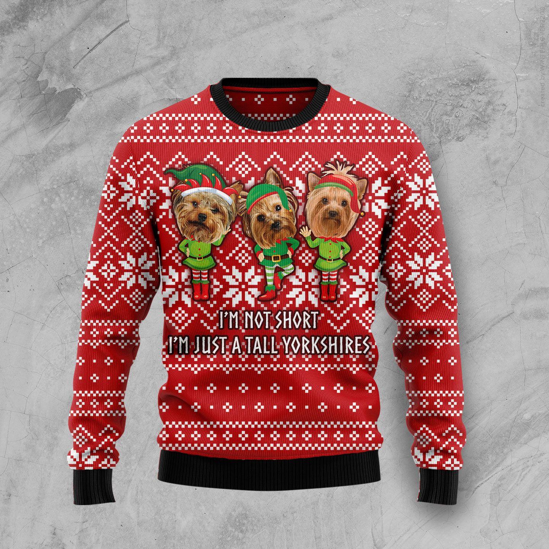 Yoga Unicorn Wool Christmas Sweater