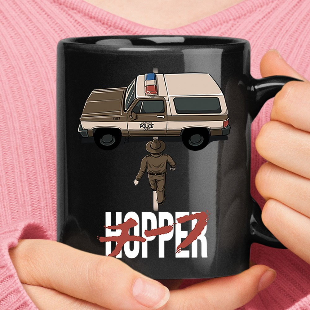 Stranger Things Chief Hopper Jim Hopper Mug
