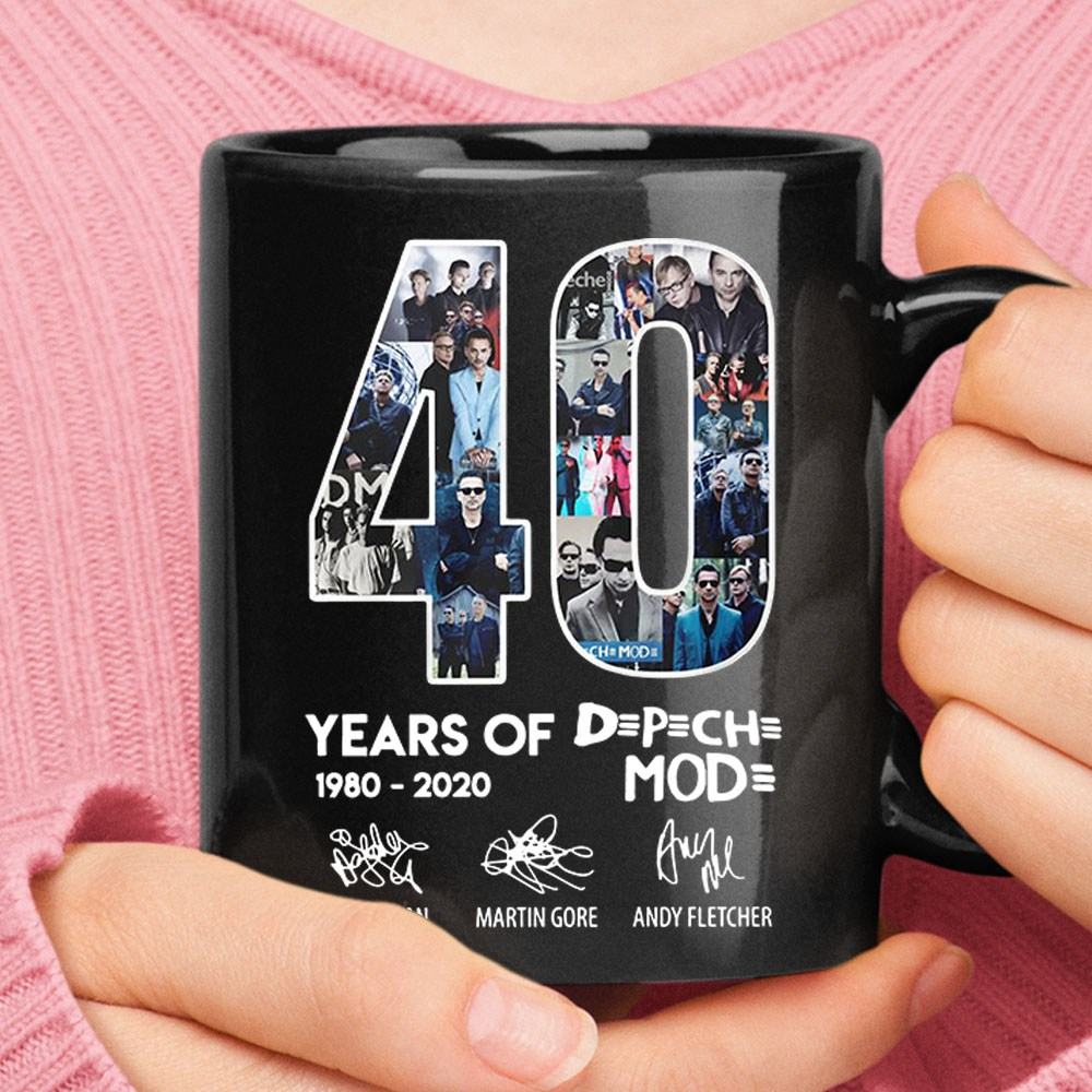 40 Years Of DPCH MOD 1980 2020 Signatures Mug