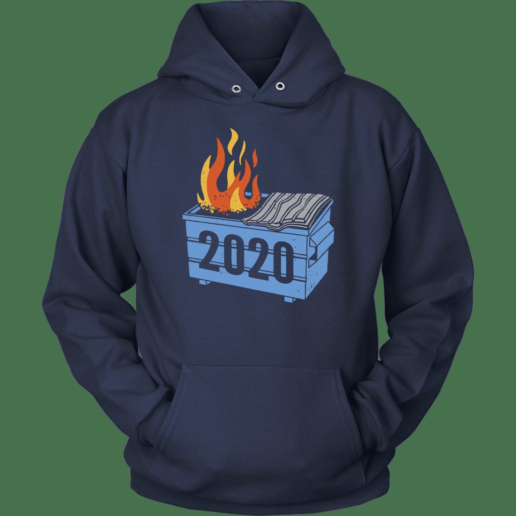 2020 Dumpster Fire Hoodie Unisex Hoodie