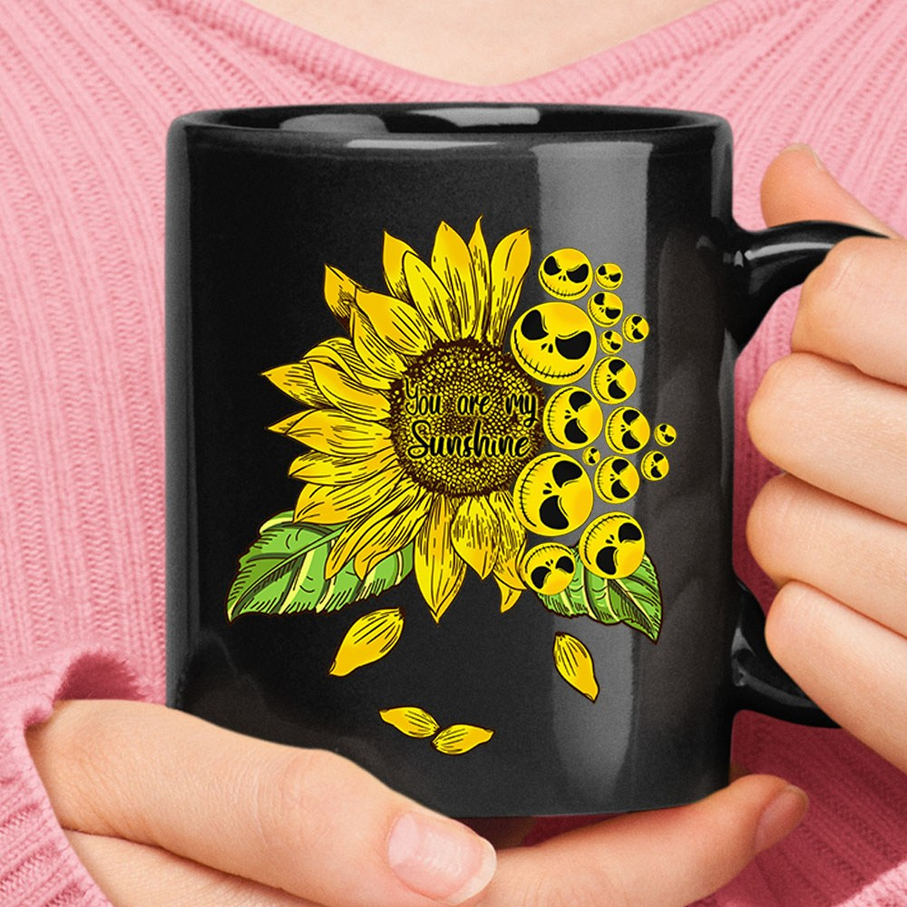 You Are My Sunflower Jack Skellington Ceramic Mug