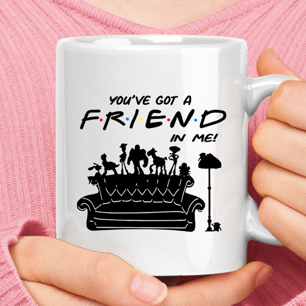 You've Got A FRIENDS In Me Toy Story Pivot Couch Mug